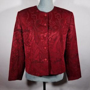 Nygard Collection Beautiful Red Formal Jacket